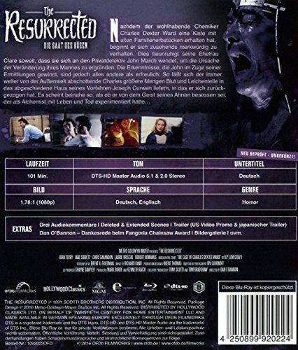 The Resurrected - Die Saat des Bösen - Ungekürzt [Blu-ray]