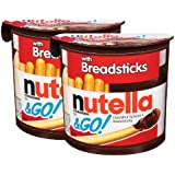 Nutella & Go with Breadsticks, 2 Pack, 2 x 52 g