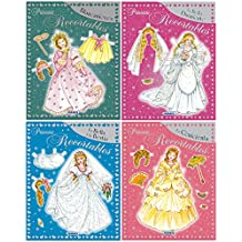 Princesas Recortables - Pack de 6 títulos diferentes