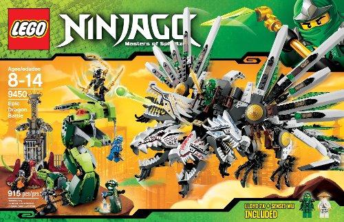 Lego Ninjago 9450 - Jeu de Construction - Le Combat des Dragons,