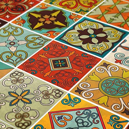 Moonwallstickers Fliesen Aufkleber Decals - Packung mit 24 Aufklebern (15 x 15 cm, Talavera Tile)