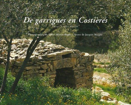 De garrigues en Costières : Paysages de Nîmes Métropole par Jacques Maigne