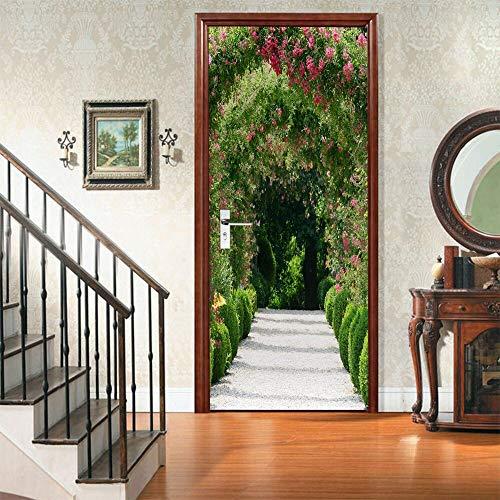 ufkleber Moderne kreative DIY Wohnzimmer Schlafzimmer Aufkleber PVC Selbstklebende wasserdichte wandbild tapete ()