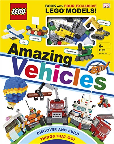 LEGO Amazing Vehicles: Includes Four Exclusive LEGO Mini Models (Cars Mini Lego)