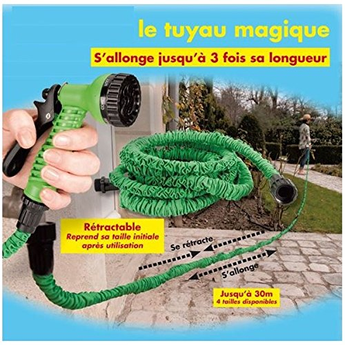 ProBache - Tuyau d'arrosage extensible 7,5 m canada...