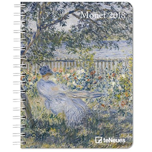 2018 Monet Deluxe Diary - teNeues - 16.5 x 21.6 cm thumbnail