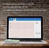 EMAY EKG Gerät, Tragbare EKG Monitor, erfasst Herzfrequenz, EKG und Symptome Vergleich