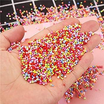 Vi-go, Mini Styropor Bälle Für Schlamm, Tiny Schaum Perlen Für Floam, Für Diy Kreative Handwerk Hochzeit Und Party Decarations, 0,1-0,18 Zoll, 42000 Stück (8pack 8color) 1