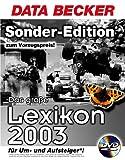 (Data Becker) Das gro�e Lexikon 2003, Upgrade, 1 DVD-ROM F�r Windows 98/98Se/Me/NT 4.0/2000/XP. 150.000 Stichw�rter Bild