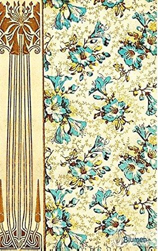 Blumen (Notizbuch): Notizbuch, Notebook, Vintage, Old Fashion, Klassiker, Edel, Design, Einschreibbuch, Tagebuch, Diary, Notes, Geschenkbuch, ... Hobby, bestseller, Antik Label Cover