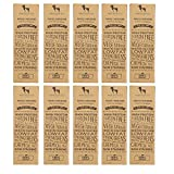 #2: HUFT Yak Chew Bone for Dogs - Yak Milk Bars for Dogs - Chhurpi Dog Food Treats (Yak Milk Chews) - Small - Healthy Alternative to Raw Hide (Pack of 10)