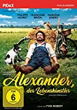 DVD Cover 'Alexander, der Lebenskünstler (Alexandre le bienheureux ) / Grandiose Filmperle mit Starbesetzung in ungekürzter Langfassung (Pidax Film-Klassiker)