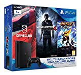 Ps4 Consola Best Deals - PlayStation 4 Slim (PS4) 1TB - Consola + Uncharted 4 + DriveClub + Ratchet & Clank [Pack Exclusivo]