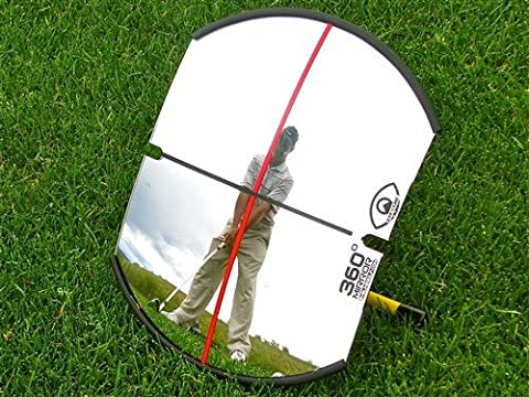 EYELINE GOLF 360 DEGREE MIRROR FOR FULL SWING OR PUTTING.