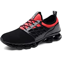 Uomo Sport Scarpe da Corsa Maglia Athletic Walking Fitness Trail Traspirante Runners Fashion Springblade Sneakers…