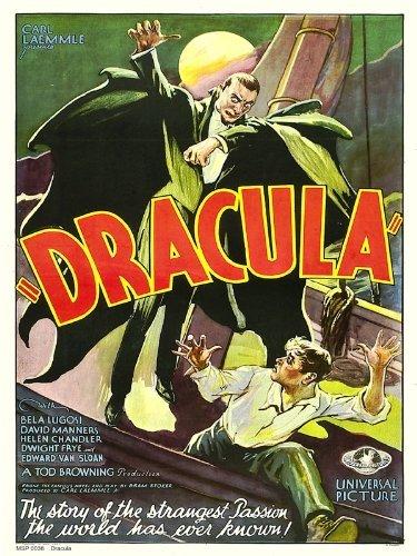 Dracula Film Poster Kunstdruck 40x 30cm (msp0038) (Rhys Dracula-jonathan Meyers)
