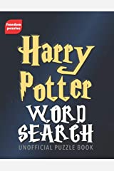 Harry Potter Word Search: Find over 1,600 words from J.K Rowling's magical books and films including Hogwarts, the characters you love, spells, actors and more in this unofficial Puzzle Book Paperback