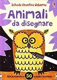 Animali da disegnare. Con gadget
