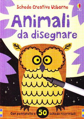 Animali da disegnare. Ediz. illustrata. Con gadget