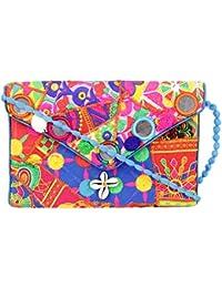 Rajasthani Jaipuri Bohemian Art Sling Bag Foldover Purse - B07FN2Z4BZ