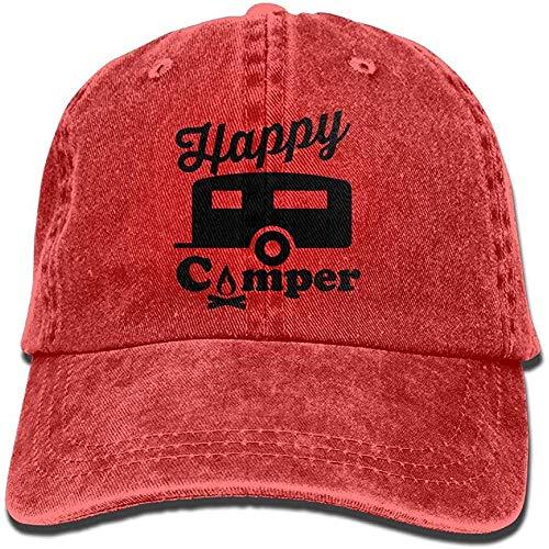 ingshihuainingxiancijies Happy Camper Fire Trailer Adjustable Cotton Cap