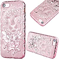 GrandEver Morbido Cover per iPhone 5/5S/SE,Design 3D