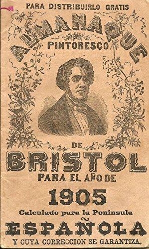 Almanaque pintoresco de Bristol para el año 1905