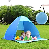 Pop Up Beach Tent, Portable Sun Shade Shelter Camping Tent for Kids