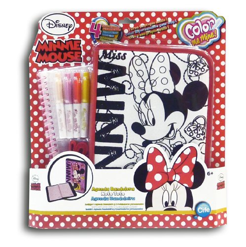 Agenda Monster High (Color Me Mine 45983 Agenda Umhängetasche Minnie (CIFE))