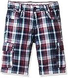 US Polo Association Boys' Shorts (ST5207_Medium Blue_EXS)