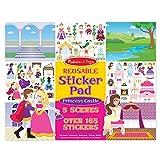 #6: Reusable Sticker Pad - Princess Castle