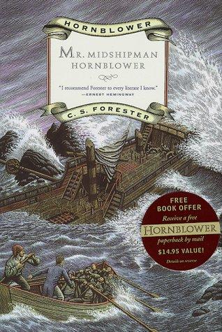 Book cover for Mr. Midshipman Hornblower