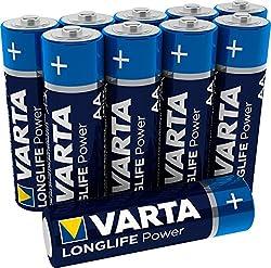 VARTA Longlife Power AA Mignon Batterien, 10er Pack