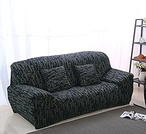 Beddingleer Polyester Household Elastic 3 Seats Sofa Cover Slipcover Protector (Style#3)