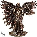 Arcángel Metradon frío fundido Escultura de bronce por Veronese Studio