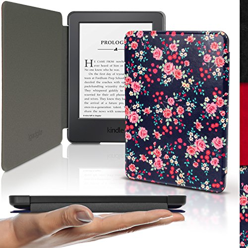 igadgitz-rose-floral-pattern-slim-pu-leather-shell-case-cover-for-amazon-kindle-e-reader-6-2016-with