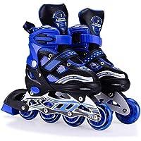 Supreme Deals® Latest Designed Sparkle Adjustable Inline Skates with Front Light up PU Wheels Beginner Skates Fun…