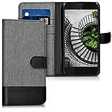 kwmobile HTC U11 Hülle - Kunstleder Wallet Case für HTC U11 mit Kartenfächern und Stand