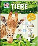 Rätseln und Stickern: Tiere (WAS IST WAS Rätselhefte)