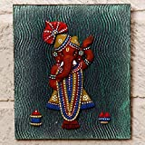 Unravel India Teracotta Standing Ganesha Wall Décor