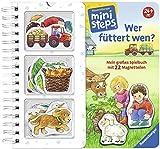 Wer füttert wen?: Mein großes Spielbuch mit 22 Magnetteilen.  Ab 24 Monaten (ministeps Bücher) - Irmgard Eberhard