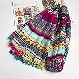 Shop 6 Schal Schal aus Baumwolle, der Schal silkWomen Schal, Stilvolle Langen Schal, Winter Schal Neuen Hellen Fransen