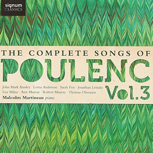 Preisvergleich Produktbild Poulenc: Die Lieder Vol.3