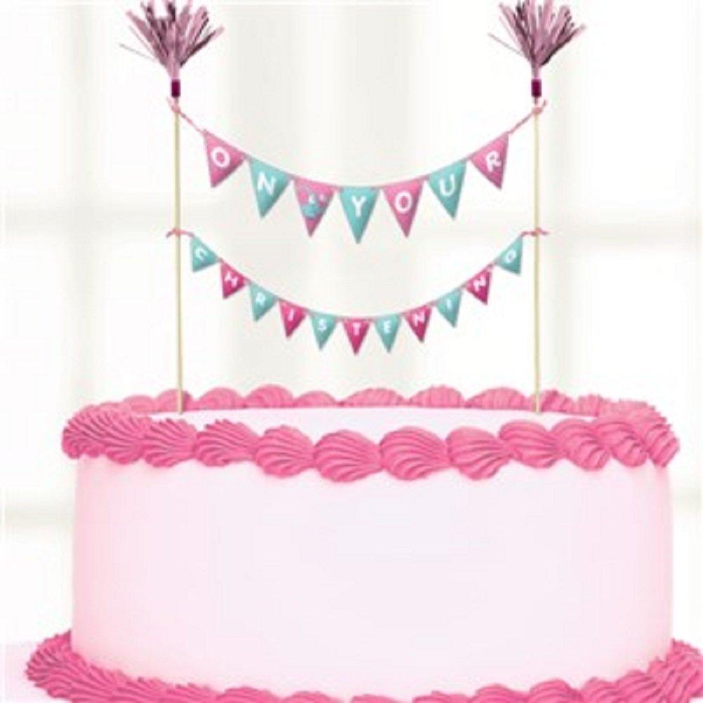 Scelte torta battesimo Day Pink