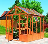 Gewächshaus-Pavillon Mainau Holzpavillon