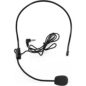 Sourcingmap 3 5mm Jack Head Mounted Headset Condenser Amazon Co Uk