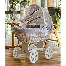 ComfortBaby ® HOME XXL Baby Stubenwagen - komplette 'all inclusive' Ausstattung - Zertifiziert & Sicher