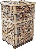 800 kg Brennholz Kaminholz reine Buche sauber auf der Palette geliefert