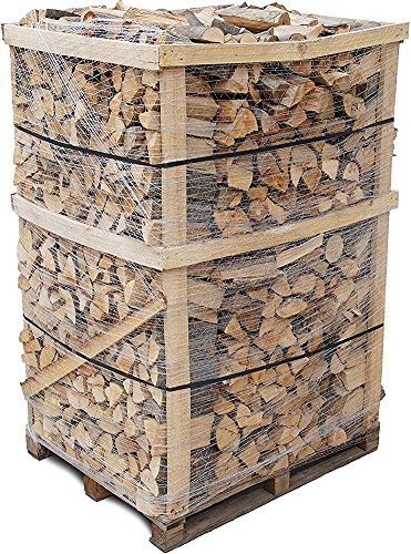 Preisvergleich Produktbild 800 kg Brennholz Kaminholz reine Buche sauber auf der Palette geliefert Kaminholz in 30-33 cm Länge