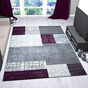 Teppiche Wohnzimmer Grau Lila günstig online kaufen | Dein ...